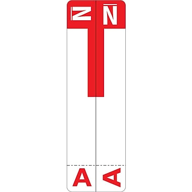 Medical Arts Press® A and N Name Labels; Red, Smead®® Compatible
