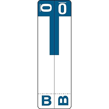 Medical Arts Press® B and O Name Labels; Dark Blue, Smead®® Compatible