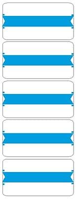 Medical Arts Press® Wraparound Name Labels; Blue