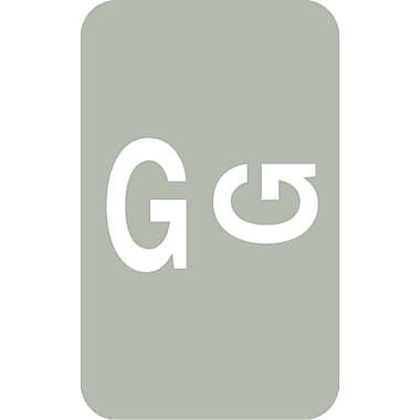 Medical Arts Press® Smead® Compatible Alpha Roll Labels; G