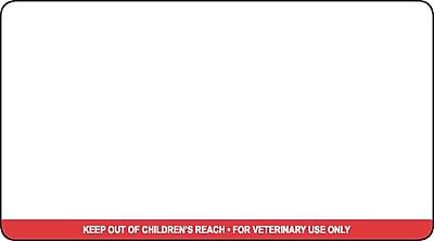 Veterinary Thermal Prescription Labels, Dymo Compatible, 3.5 x 1.812 inch