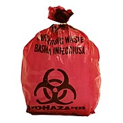 Biomedical Waste Disposal Systems, Infectious Waste Bags, 1-Gallon