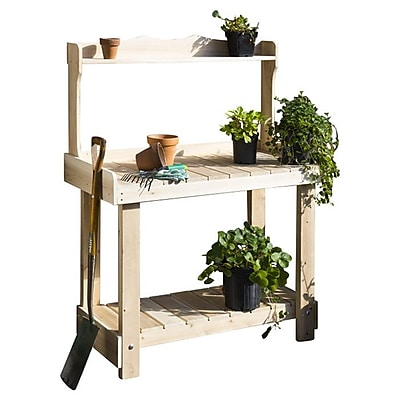 Rustic Cedar Novelty Plant Stand