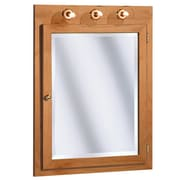 Coastal Collection Salerno Series Lighted 24'' x 32'' Surface Mount Medicine Cabinet w/ Lighting