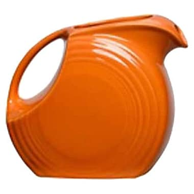 Fiesta 67.25 Oz. Large Disc Pitcher; Tangerine