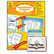 Evan-Moor Geography Centers Grade 2-3 Book