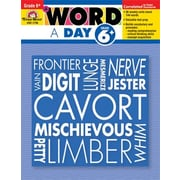 Evan-Moor A Word a Day Grade 6 Book