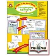 Evan-Moor Geography Centers Grade 4-5 Book