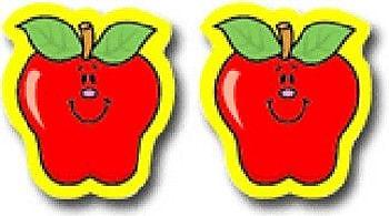 Carson Dellosa Publications Apples Sticker (Set of 120)