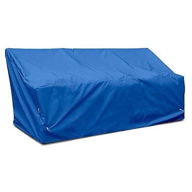 KoverRoos Weathermax Deep 3-Seat Glider / Lounge Cover; Pacific Blue