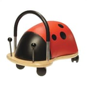 Prince Lionheart Wheely Bug Ladybug Push/Scoot Ride-On; Small