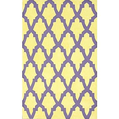 nuLOOM Brilliance Yellow/Purple Damian Area Rug; 5' x 8'