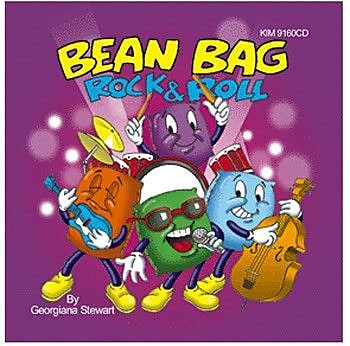 Kimbo Educational Bean Bag Rock and Roll CD