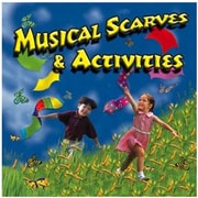 Kimbo Educational Musical Scarves and Activities CD