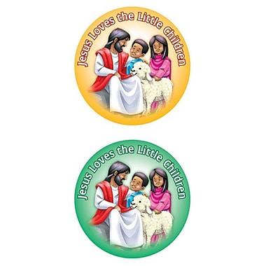 Carson Dellosa Publications Jesus Loves The Little Children Sticker