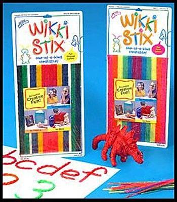 Wikki Stix Wikki Stix Primary Colors WYF078276520633