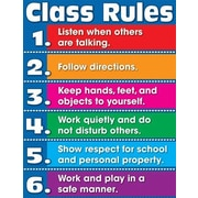 Carson Dellosa Publications Class Rules Chart