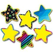 Creative Teaching Press Poppin Pattern Stars Jumbo Bulletin Board Cut Out