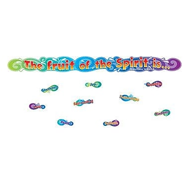 Carson Dellosa Publications The Fruit of The Spirit Mini Bulletin Board Cut Out Set