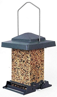 Heritage Farms Squirrel Proof Vista Hopper Bird Feeder (WYF078277037984) photo