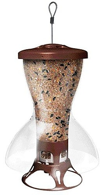 Woodstream Wildbird Shelter Proof Tube Bird Feeder