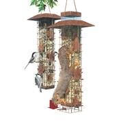 Woodstream Wildbird Be Gone Wild Caged Tube Bird Feeder