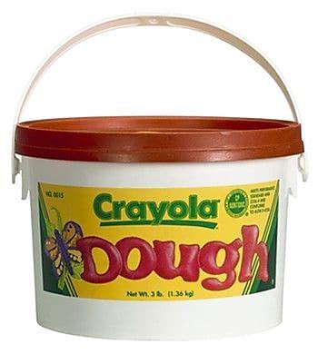 Crayola Modeling Dough 3lb Bucket Orange