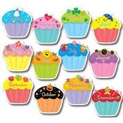 Creative Teaching Press Cupcakes Jumbo Bulletin Board Cut Out