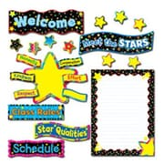 Creative Teaching Press Back to School Stars Bulletin Board Cut Out Set