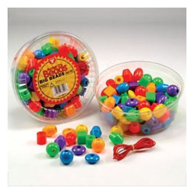 Hygloss Products Inc Big Beads 16 Oz