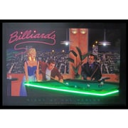 Neonetics Retro Night at the Parlor Neon LED Framed Vintage Advertisement