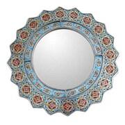 Novica Bluebells Mirror