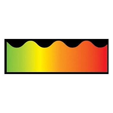 Carson Dellosa Publications Rainbow Scalloped Classroom Border