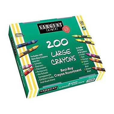 Sargent Art Inc Sargent Art Large Crayons 200 Large