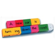 Learning Resources Reading Rods Sentence Building Kit Letters