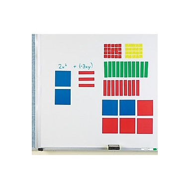 Learning Resources Magnetic Algebra Tiles Flash Cards