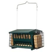 Heritage Farms Mini Seeds-N-More Hopper Bird Feeder w/ Suet Holder