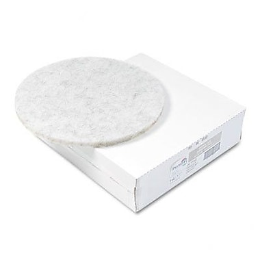 Premiere Pads Ultra High-Speed Floor Pads, Natural Hair/Polyester, 5/Carton