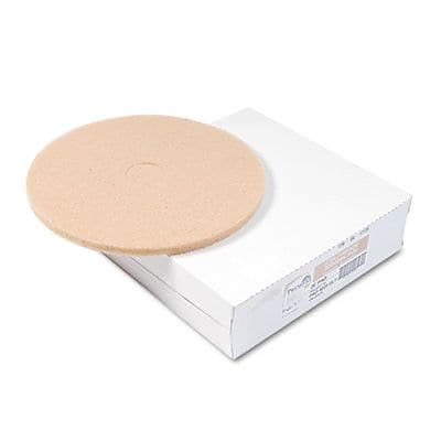 Premiere Pads Ultra High-Speed Floor Pads, Ultra Champagne For High Gloss, 5/Carton