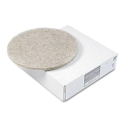 Premiere Pads Ultra high-Speed Floor Pads, Natural Hair Extra, 5/Carton WYF078277512308