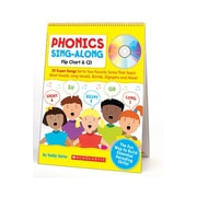Scholastic Phonics Sing-along Flip CD