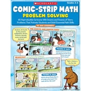 Scholastic Comic Strip Math Problem Solving Book