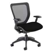 Nightingale Chairs WXO Series Mid-Back Mesh Desk Chair; Mystic Black