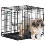 Midwest Homes For Pets iCrate Double Door Pet Crate; Small (19'' H x 18'' W x 24'' L)