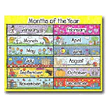 Carson Dellosa Publications Months Of The Year Calendar