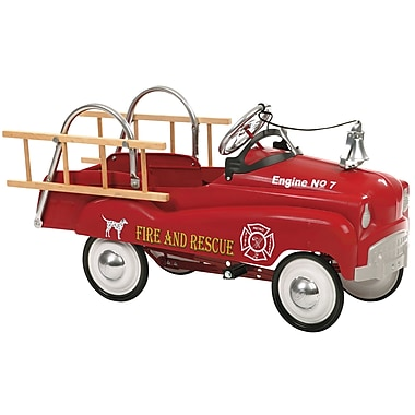 InSTEP Pedal Fire Trucks
