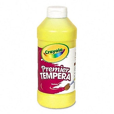 Crayola Premier Tempera Paint, Yellow, 16 Ounces