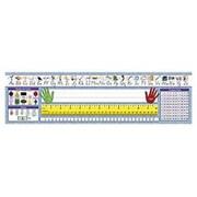 Northstar Teacher Resource Modern Manuscript Desk Tape Name Tag