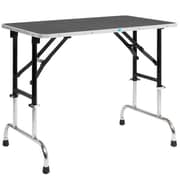 Master Equipment Adjustable Height Grooming Pet Table; 42'' W x 24'' D