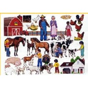 Little Folks Visuals Farm Bulletin Board Cut Out